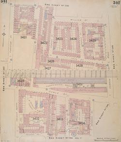 Insurance Plan of London Vol. XI: sheet 341